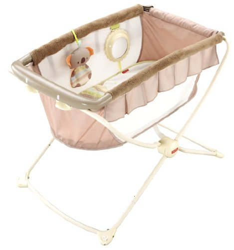 Fisher-Price Deluxe Rock n' Play Portable Bassinet - 1