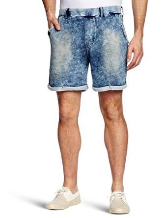 UCLA - Short - Homme - Bleu (Light Indigo) - FR : M (Taille fabricant : M)