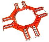 DIY 工具 コーナークランプ 木工 溶接 作業 に (4)