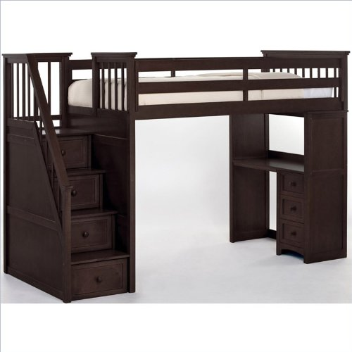 Bunk Beds With Stairs 2841 front