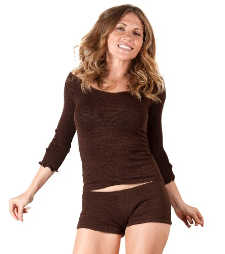 New York Black Large Boy Shorts & Stretch Knit Top By Kd Dance New York Yoga, Pilates To Pole Dancing Made In Usa