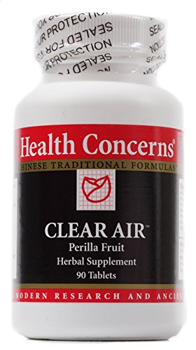 Health Concerns - Clear Air - 90 Tablets