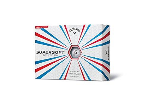 2015 Callaway Supersoft Golf Balls DOZEN - White