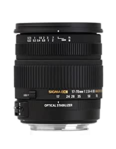 Sigma 17-70mm f/2.8-4 DC Macro OS HSM Lens for Nikon Mount Digital SLR Cameras