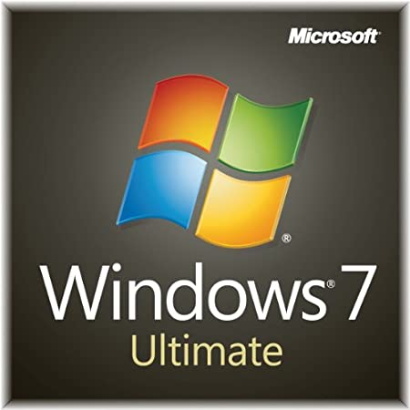Windows 7 Ultimate SP1 64bit (Full) System Builder OEM DVD 1 Pack (New Packaging)