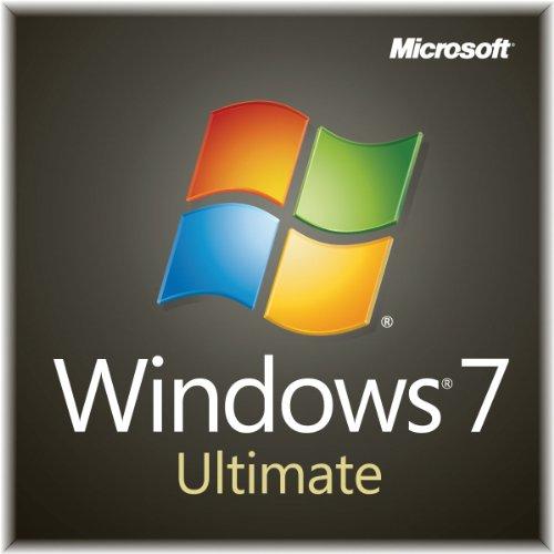 Windows 7 Ultimate SP1 64bit (Full) System Builder OEM DVD 1 Pack (New Packaging)