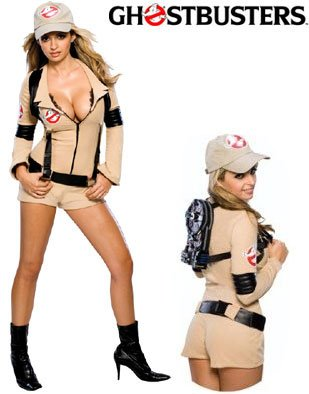 New Womens Medium Sexy Ghostbuster Ghostbusters Costume