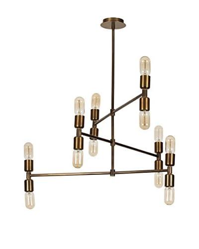 Light&Design Lámpara De Suspensión Marrón
