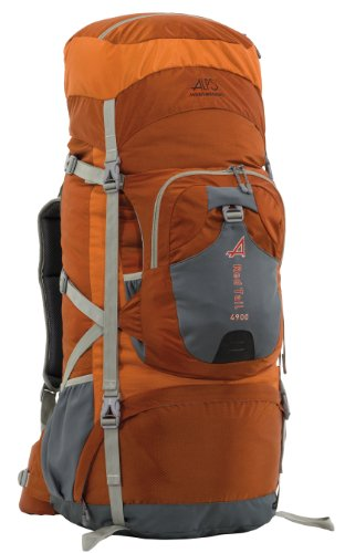 B00G0LQXAO ALPS Mountaineering Red Tail 4900 Internal Frame Pack, Rust