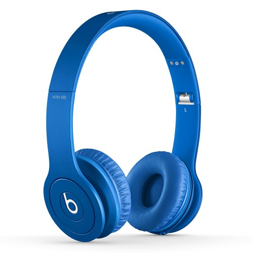 Beats Solo HD On-Ear Headphones (Drenched in Blue)