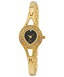 Maxima Analog Black Dial Womens Watch - 24383BMLY