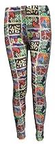Graffiti Boxes Peace Dance Cheer Girls Ankle Length Spandex Leggings (7)