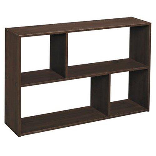 ClosetMaid 1581 Cubeicals Off-set Mini Organizer, Espresso (Desktop Storage Cabinet compare prices)
