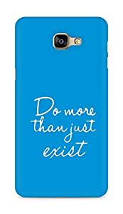 AMEZ do more than just exist Back Cover For Samsung Galaxy A9