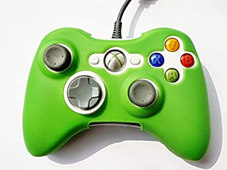 2in1 combo Silicone Skin BLUE and GREEN Game Controller Protection