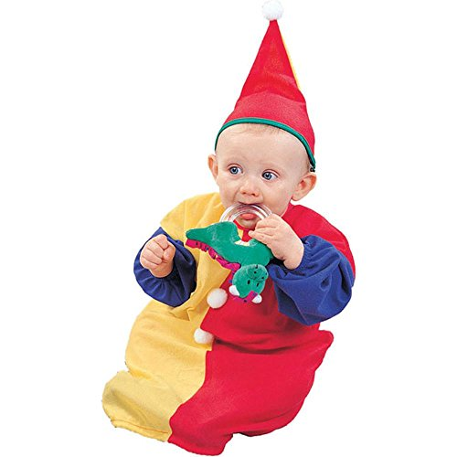 Baby Colorful Clown Halloween Costume