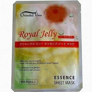オリエンタルビュー エッセンスシートマスク ローヤルゼリー25g 美容エキス 天然エキスたっぷり 潤い ハリ 弾力のある美肌へ