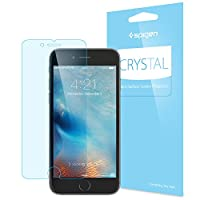 iPhone 6s Plus Screen Protector, Spigen® [3D Touch Compatible- Crystal] Premium HD [Easy-Install Wings] iPhone 6 Plus / 6s Plus JAPANESE BASE PET FILM Ultra Clear Screen Protector - CR (SGP11631) from Spigen