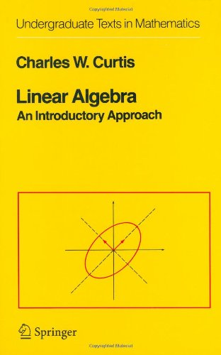 Linear algebra: An introductory approach