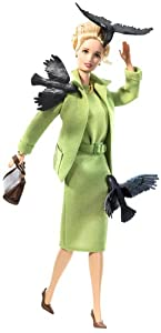 Barbie Collector 2008 Black Label - Pop Culture Collection - Alfred Hitchcock's THE BIRDS Barbie Doll