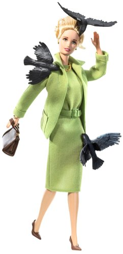 Hot Alfred Hitchcock The Birds Barbie Doll