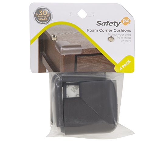 Safety 1st Foam Corner Cushions, Espresso - 1