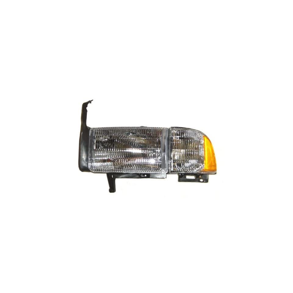 OE Replacement Dodge Pickup Driver Side Headlight Assembly Composite (Partslink Number CH2502101)