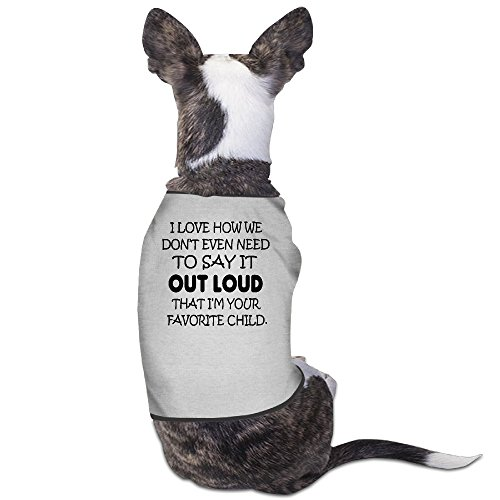 YRROWN I M Your Favorite Child Dog Shirt (Spirit Halloween Utah)