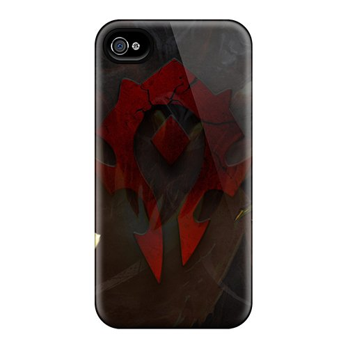 ZyZ25988sOyE Snap On Case Cover Skin For Iphone 4/4s(wow Paladin Horde)