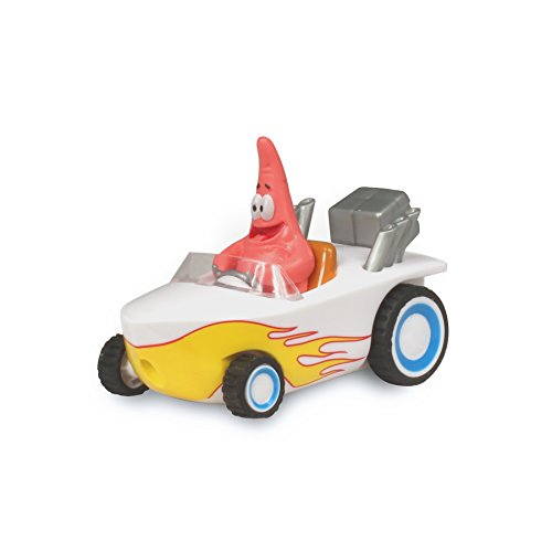 SpongeBob Pull Back Patrick Hot Rod Boat Vehicle - 1