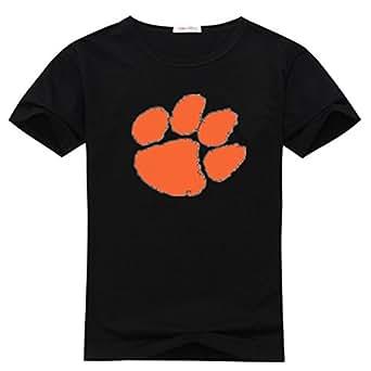 Liminhao men 39 s big t shirt clemson university for Clemson university t shirts