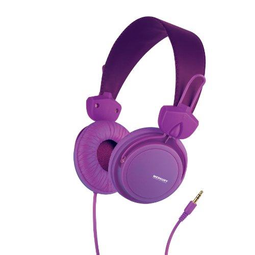 Merkury Innovations Edge Headphones - Purple (M-Hl1080)