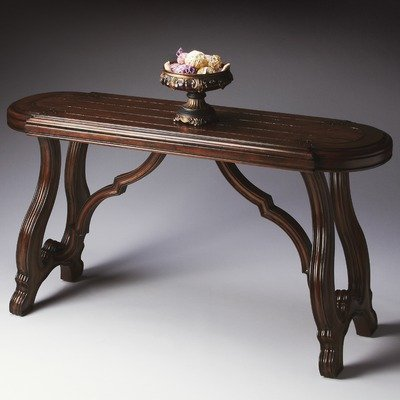 Cheap Heritage Console Table in Distressed Walnut (B004KGDGUQ)