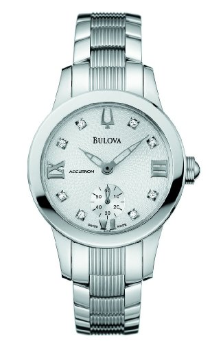 Accutron By Bulova Masella Diamond Markers Quartz Women'S Watch 63P01