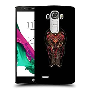 Snoogg Red DevilDesigner Protective Back Case Cover For LG G4