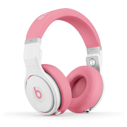 Beats by Dr. Dre Pro Over-Ear Headphones (Nicki Pink) Bundle with Custom Design Zorro Sounds Cleaning Cloth