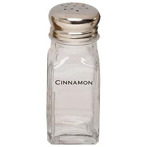 Espresso Supply, Inc. 05100-CIN Labeled Cinnamon Shaker