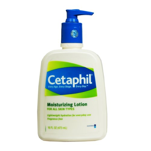 Cetaphil Cetaphil Fragrance Free Moisturizing Lotion, 16-Ounce Bottles (Pack of 2)