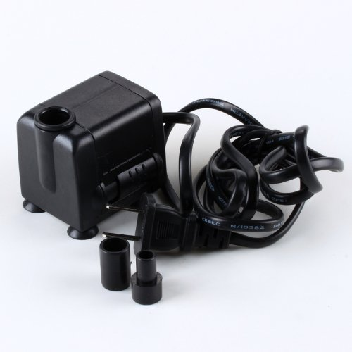 Aquarium Submersible Water Fountain Pump Powerhead 500L/H 7W 0.9M front-118751