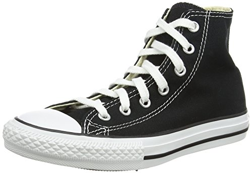 Converse Youths Chuck Taylor All Star Hi, Sneakers bassi Unisex Bambino, Black, 32 EU