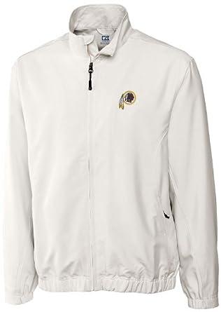 NFL Washington Redskins Mens WindTec Astute Full Zip Windshirt by Cutter & Buck