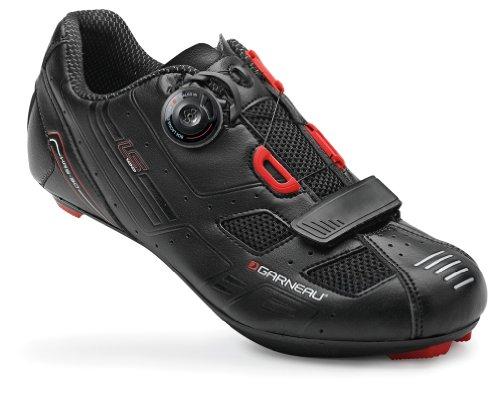 Louis Garneau 2015 Men's LS-100 Road Cycling Shoes – 1487181 (Black – 44)
