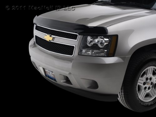 WeatherTech Custom Fit Stone & Bug Deflector for Dodge Ram 1500, Dark Smoke (2010 Dodge Ram Weathertech compare prices)