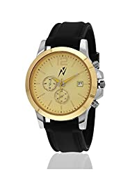 Yepme Mens Chronograph Watch - Yellow/Black -- YPMWATCH1757