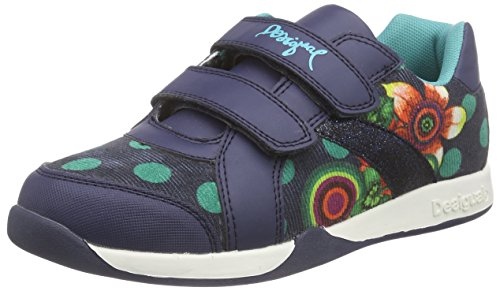 DesigualSHOES MINI DAMIAN 1 - Sneaker Ragazza , Blu (Blau (5074 MEDIEVAL BLUE)), 28