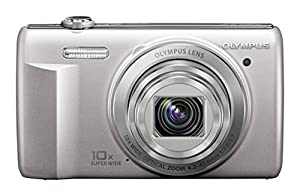 Olympus VR-340 16MP Digital Camera with 10x Optical Zoom (Silver) (Old Model)