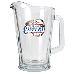 Los Angeles Clippers NBA 60oz Glass Pitcher - Primary Logo