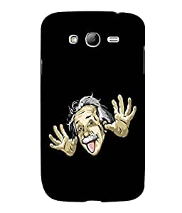 printtech Cool Einstein Back Case Cover for Samsung Galaxy Grand Neo Plus::Samsung Galaxy Grand Neo Plus i9060i