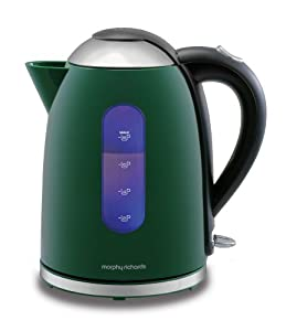 Morphy Richards Accents 43171 Jug Kettle, Green