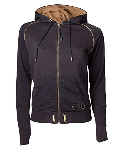 Assassin's Creed Logo Felpa jogging donna nero/oro XS